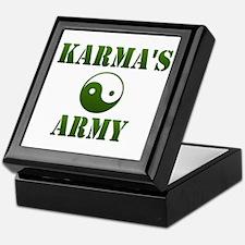 Karma's Army Keepsake Box