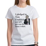 I Pledged To Tom Craddick... Women's T-Shirt
