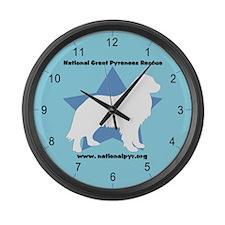 NGPR Large Wall Clock