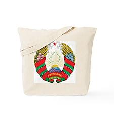 Belarus Coat Of Arms Tote Bag