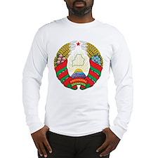 Belarus Coat Of Arms Long Sleeve T-Shirt