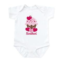 Sweetheart Cupcake Infant Bodysuit