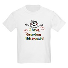 I Love Grandma (boy) T-Shirt