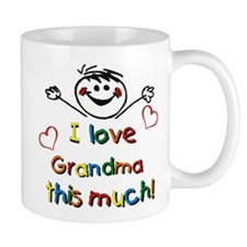 I Love Grandma (boy) Mug