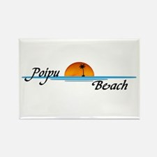 Poipu Beach Rectangle Magnet