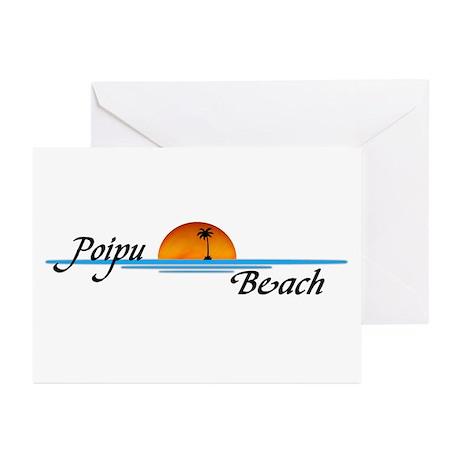 Poipu Beach Greeting Cards (Pk of 20)