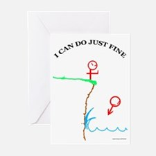 Just Fine! Greeting Cards (Pk of 10)
