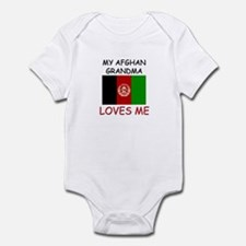 My Afghan Grandma Loves Me Infant Bodysuit