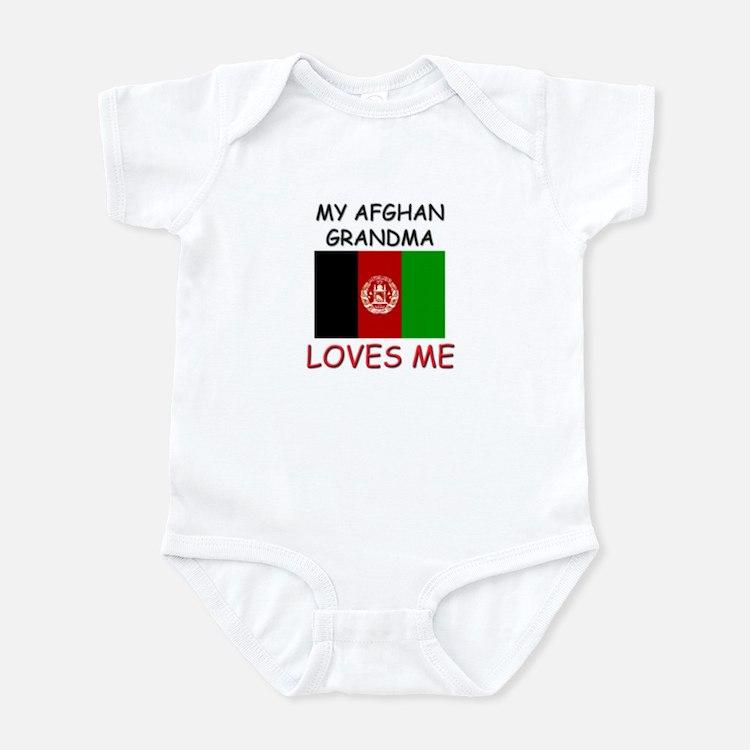 My Afghan Grandma Loves Me Infant Bodysuit