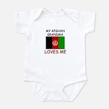 My Afghan Grandma Loves Me Onesie