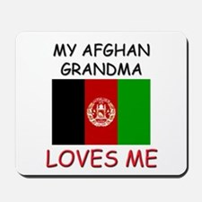 My Afghan Grandma Loves Me Mousepad
