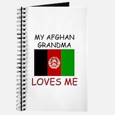 My Afghan Grandma Loves Me Journal