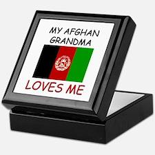 My Afghan Grandma Loves Me Keepsake Box