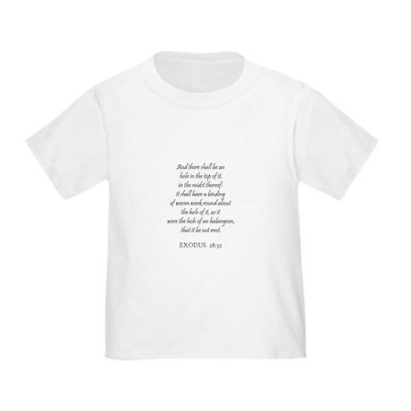 EXODUS 28:32 Toddler T-Shirt