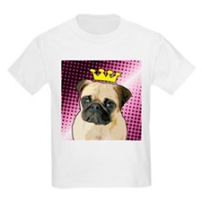 Pug Princess Kids T-Shirt