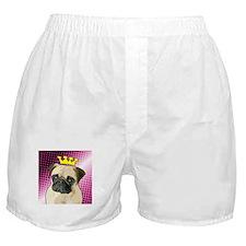 Pug Princess Boxer Shorts