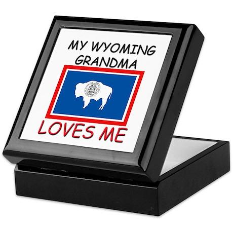 My Wyoming Grandma Loves Me Keepsake Box