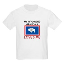 My Wyoming Grandma Loves Me T-Shirt