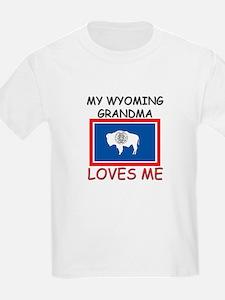 My Wyoming Grandma Loves Me T-Shirt