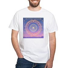 370a.heart fire mandala Shirt