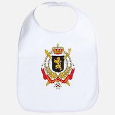 Belgium Coat Of Arms Bib