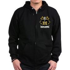 Carroll Coat of Arms Zip Hoodie
