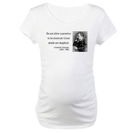 Nietzsche 3 Maternity T-Shirt