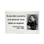 Nietzsche 3 Rectangle Magnet (10 pack)