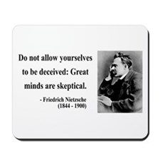 Nietzsche 3 Mousepad