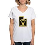 Millard County Sheriff Women's V-Neck T-Shirt
