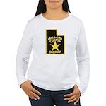Millard County Sheriff Women's Long Sleeve T-Shirt