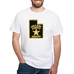 Millard County Sheriff White T-Shirt