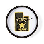 Millard County Sheriff Wall Clock