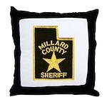 Millard County Sheriff Throw Pillow