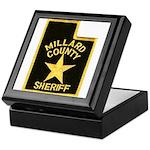 Millard County Sheriff Keepsake Box