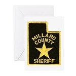 Millard County Sheriff Greeting Cards (Pk of 20)