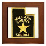 Millard County Sheriff Framed Tile