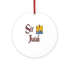 Sir Isaiah Ornament (Round)