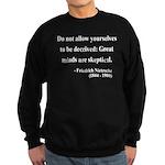 Nietzsche 3 Sweatshirt (dark)