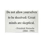Nietzsche 3 Rectangle Magnet (100 pack)