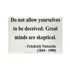 Nietzsche 3 Rectangle Magnet (100 pack)
