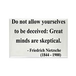 Nietzsche 3 Rectangle Magnet