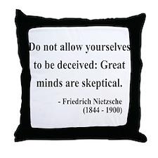 Nietzsche 3 Throw Pillow