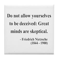 Nietzsche 3 Tile Coaster