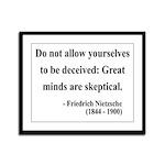 Nietzsche 3 Framed Panel Print