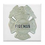 Fireman Tile Coaster