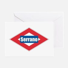Serrano Greeting Card