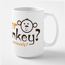 Spider Monkey? Large Mug