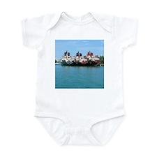 3 Ships Infant Bodysuit