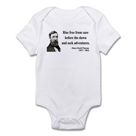 Henry David Thoreau 33 Infant Bodysuit